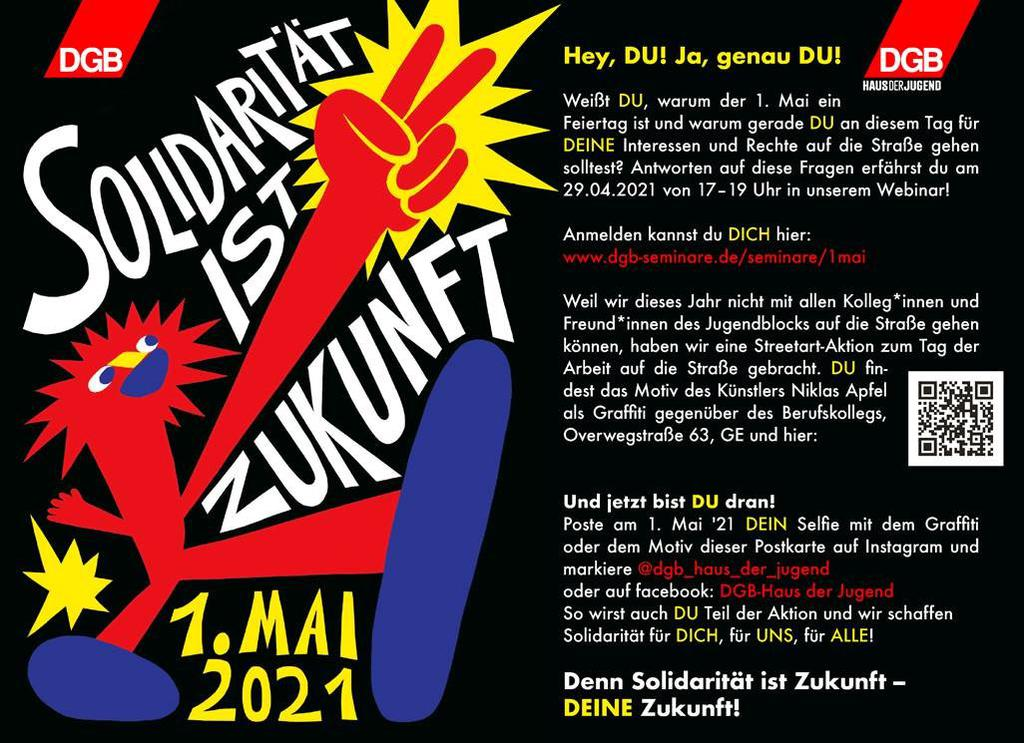 Aufruf der DGB-Jugend zum 1. Mai Gelsenkirchen