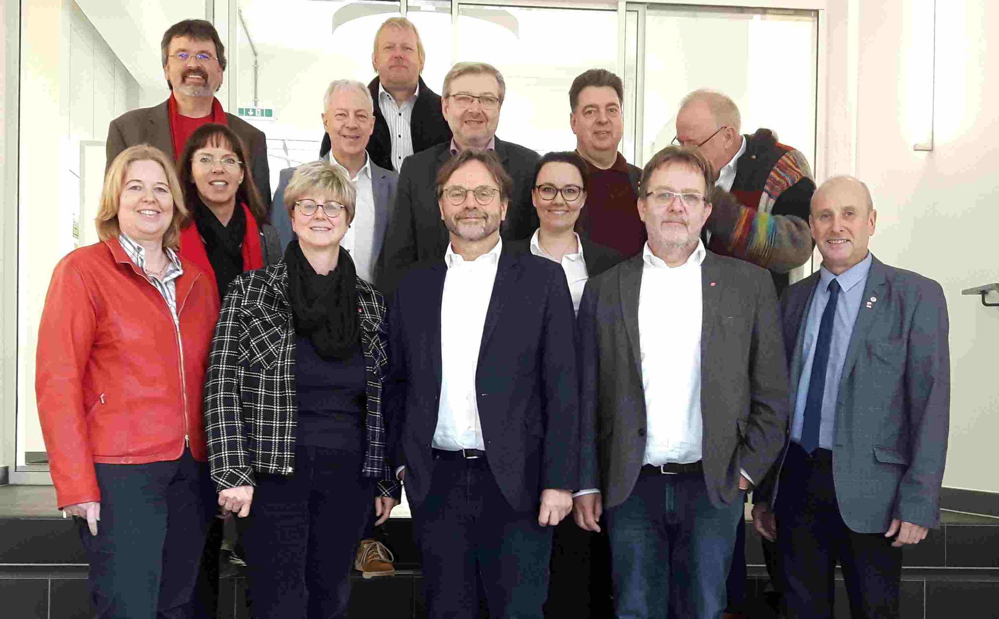 Gespräch DGB-Geschäftsführer und Bundestagsabgeordnete der SPD