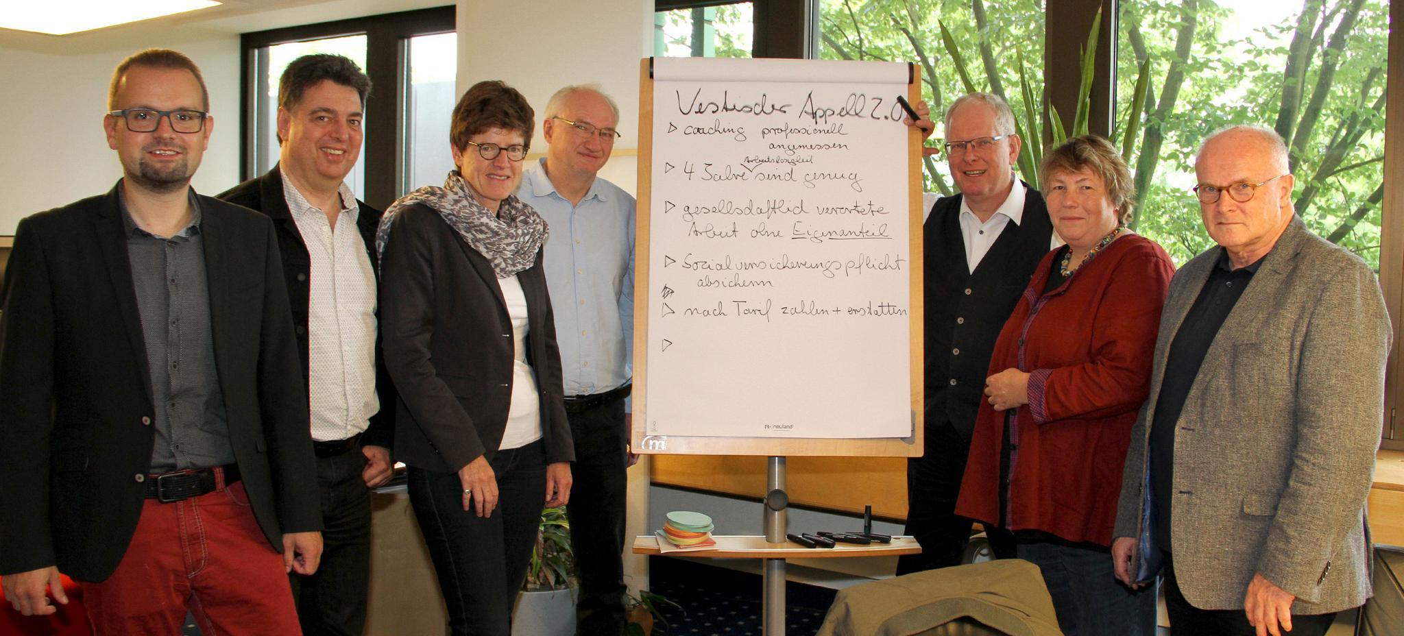 DGB und Kirchen im Kreis Recklinghausen stellen Forderungen zur Umsetzung des Sozialen Arbeitsmarkts