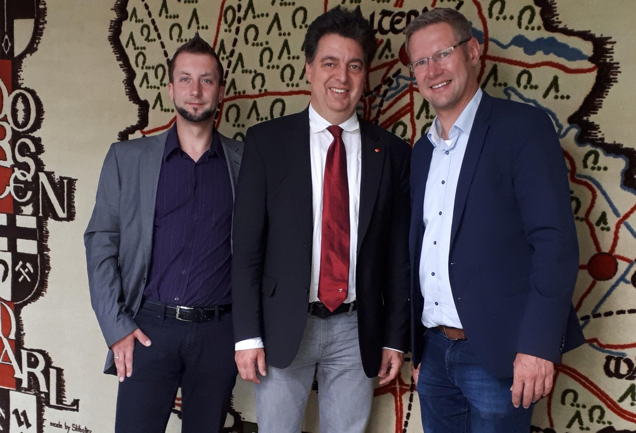 DGB-Chef macht Antrittsbesuch in Oer-Erkenschwick