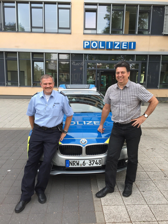 Zu Besuch bei der GdP Gelsenkirchen