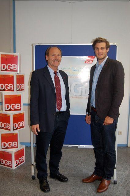 Josef Hülsdünker und Volker Nicolai