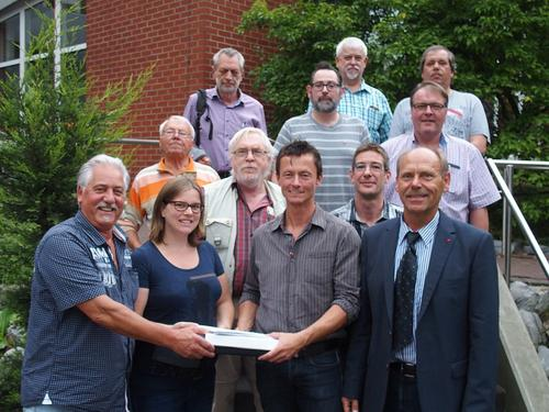 Gruppenbild DGB-Vorstand Marl