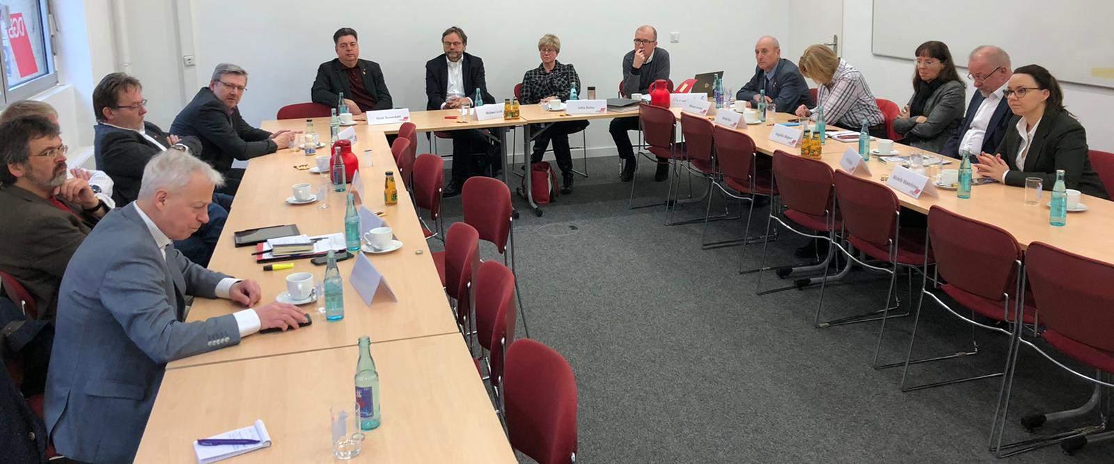 Gespräch DGB-Geschäftsführer mit Bundestagsabgeordneten der SPD