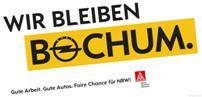 """Wir bleiben Bochum - Claim von """"Wir gemeinsam"""""""